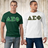 Fraternity T-Shirt and Long Sleeve Greek gear package
