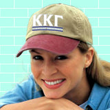 Sorority Pigment-Dyed Embroidered Hat