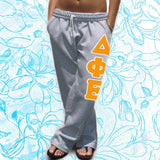 Open Bottom Pocketed Sorority Sweatpants