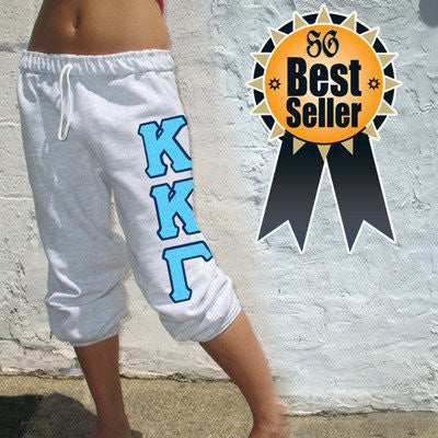 Custom Greek Sorority Lettered Sweatpants
