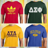 Custom Greek performance clothing Men's Fraternity athletic gear