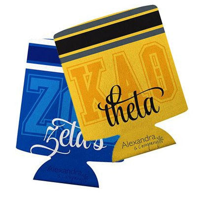 Something Greek Custom Drink Koozie