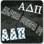 Alpha Delta Pi Sorority gifts and accessories Greek gifts and merchandise