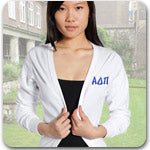 Alpha Delta Pi Sorority embroidered clothing and embroidered Greek merchandise