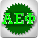 Alpha Epsilon Phi Sorority clothing sales and Greek merchandise on sale