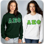 Alpha Epsilon Phi sorority clothing specials custom Greek merchandise on sale