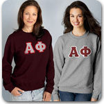 Alpha Phi Sorority clothing specials Custom Greek mechandise