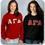 Alpha Gamma Delta Sorority clothing specials Custom Greek merchandise