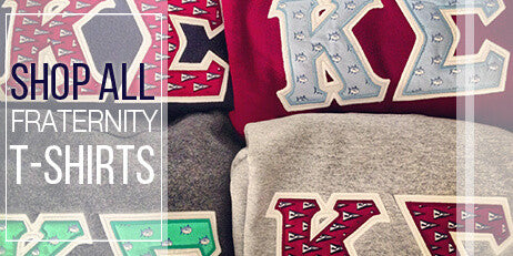 Custom Fraternity clothing Greek shirts