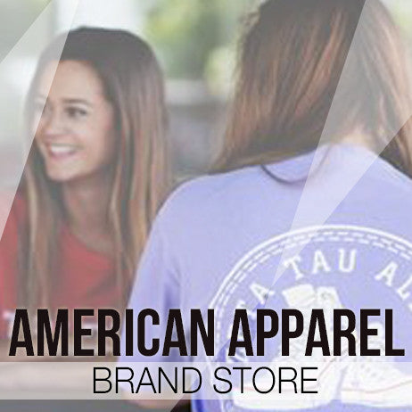 American Apparel Sorority Clothing