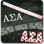 Alpha Sigma Alpha Sorority gifts and Custom Greek accessories