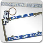 Sigma Tau Gamma Fraternity accessories and Greek gifts