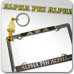 Alpha Phi Alpha Fraternity accessories and Custom Greek gifts
