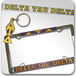 Delta Tau Delta Fraternity accessories and Custom Greek gifts