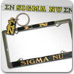Sigma Nu Fraternity accessories and Greek gifts