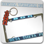 Beta Theta Pi Fraternity accessories and Greek gifts