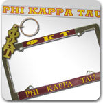 Phi Kappa Tau Fraternity accessories and Greek gifts