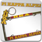 Pi Kappa Alpha Fraternity Custom Greek accessories and merchandise