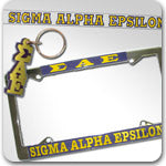 Sigma Alpha Epsilon Fraternity accessories and Greek gifts