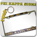 Phi Kappa Sigma Fraternity accessories and custom Greek gifts