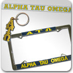 Alpha Tau Omega Fraternity accessories and Custom Greek gifts