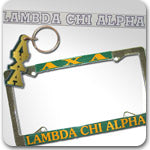 Lambda Chi Alpha Fraternity accessories and Greek gifts