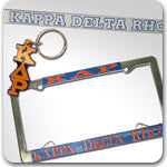 Kappa Delta Rho Fraternity accessories and Greek gifts