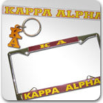 Kappa Alpha Fraternity custom Greek gifts and accessories