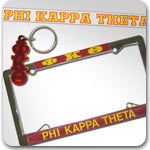 Phi Kappa Theta Fraternity accessories and Greek gifts