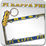 Pi Kappa Phi Fraternity accessories and Greek gifts