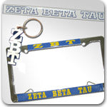 Zeta Beta Tau Fraternity gifts and accessories Custom Greek merchandise