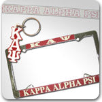 Kappa Alpha Psi Fraternity custom Greek gifts and accessories