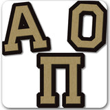 Alpha Omicron Pi Sorority do it yourself custom Greek merchandise