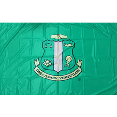 Alpha Kappa Alpha Sorority flags Custom Greek Flags Greek banners Greek merchandise