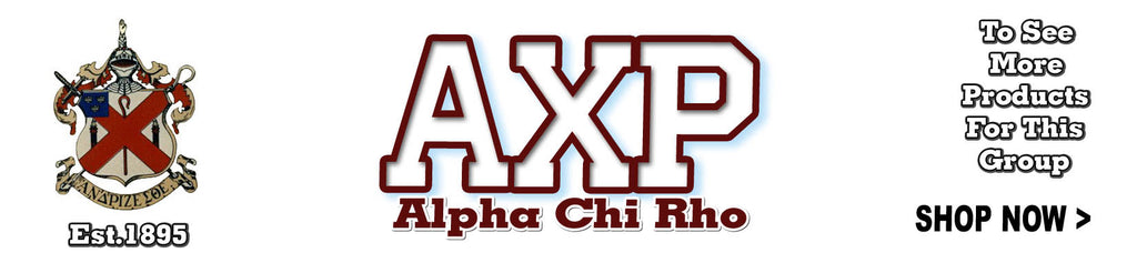 Alpha Chi Rho Fraternity clothing Custom Greek gear