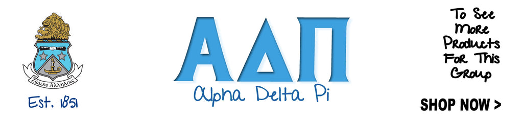 Alpha Delta Pi Shirts Apparel Clothing Merchandise And Gifts