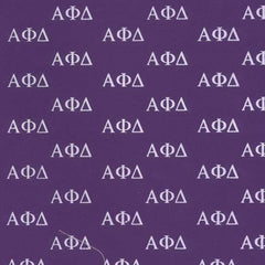 Alpha Phi Delta Purple Pattern