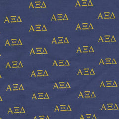 Alpha Xi Delta Navy Pattern