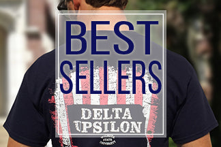 Custom Fraternity clothing best sellers