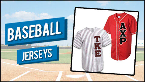 Something Greek Gear baseball jerseys