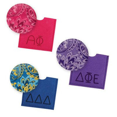 greek sorority button mirror back to school merchandise accessories somethinggreek