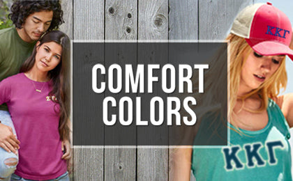 Comfort Colors Fraternity and Sorority Clothing