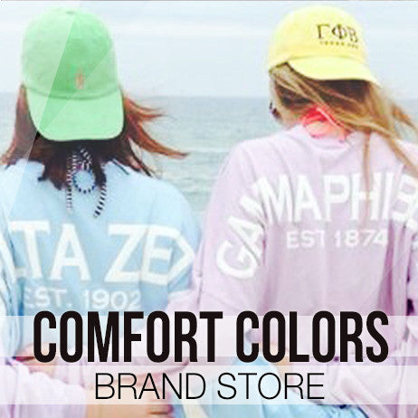 Comfort Colors Sorority Clothing