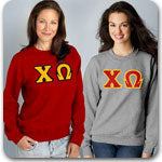 Chi Omega Sorority Custom Greek clothing specials