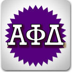 Alpha Phi Delta Fraternity custom Greek merchandise sales and discounts