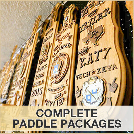 Complete Greek Paddle Packages