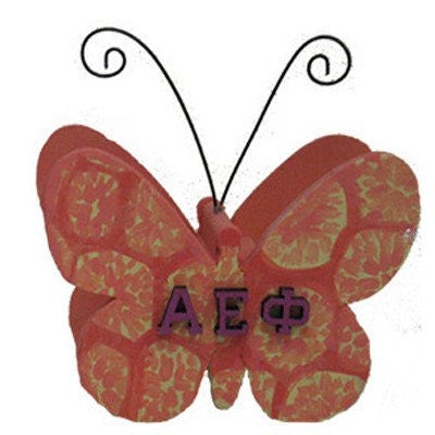 greek sorority diy do-it-yourself butterfly photo holder paddle accessories