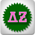 delta zeta dz sorority greek clothes cheap prices sale budget printed letters custom design