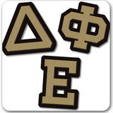 Delta Phi Epsilon Sorority do it yourself custom Greek merchandise