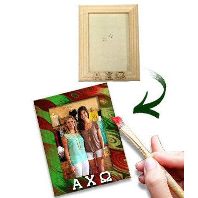 greek fraternity sorority diy do-it-yourself greek picture frame wood accessories paddle season